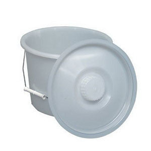 BRIGGS 12 Quart Pail w/Lid And Wire Handles - Crescent Medical Supply
