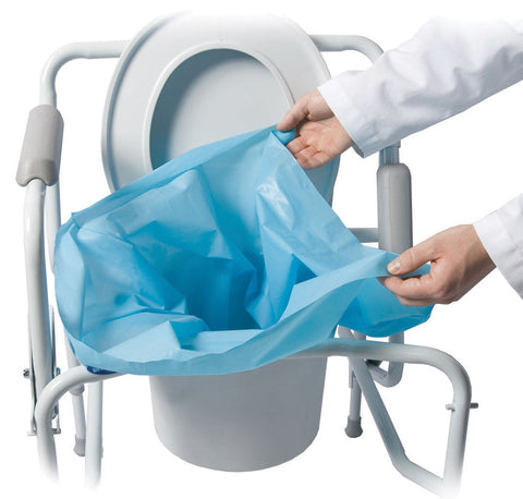 MOBILITY TRANSFER SYSTEMS, INC. Sani-Bag+ Commode Liner, Biodegradable - Crescent Medical Supply