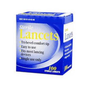 TRIVIDIA HEALTH, INC Lancet 28G - Crescent Medical Supply