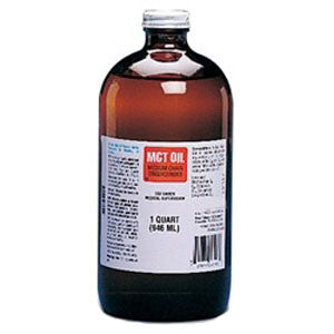 MCT Oil Medium Chain Triglycerides Unflavored 1 qt Glass Bottle