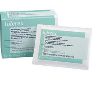 Tolerex Maintenance Elemental Diet Unflavored 2.82 oz. packet