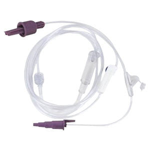 NESTLE HEALTHCARE NUTRITION INC Spike Right PLUS connector with Pre-attached Pump Set - Crescent Medical Supply