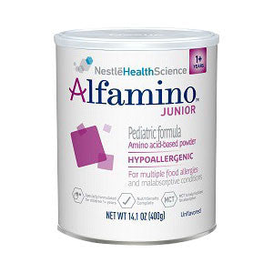 NESTLE HEALTHCARE NUTRITION INC Alfamino Junior Unflavored Powder 14.1 oz. - Crescent Medical Supply