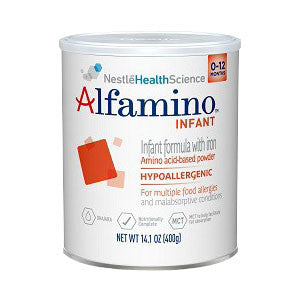NESTLE HEALTHCARE NUTRITION INC Alfamino Infant Unflavored Powder 14.1 oz. - Crescent Medical Supply