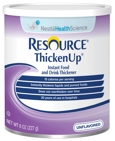 Resource Thickenup Instant Unflavored Food Thickener 8 oz. Can