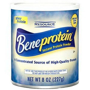 Resource Beneprotein Instant Protein Unflavored Powder 8 oz. Canister