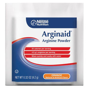 NESTLE HEALTHCARE NUTRITION INC Arginaid Arginine-intensive Orange Flavor Powdered Mix 9.2g Packet - Crescent Medical Supply