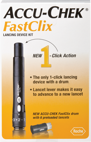 ROCHE DIAGNOSTICS CORP. ACCU-CHEK FastClix Lancing Device Kit - Crescent Medical Supply