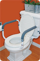 CAREX HEALTH BRANDS Toilet Support Rail - Crescent Medical Supply