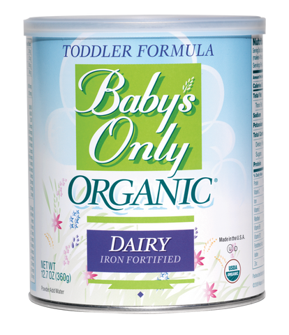 NATURE'S ONE, INC Baby's Only Organic Dairy Toddler Formula,12.7 oz. - Crescent Medical Supply