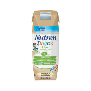 Nutren Junior Fiber Complete with Prebio1 Vanilla Flavor 250 mL