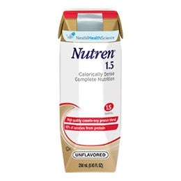 Nutren 1.5 Complete Liquid Nutrition Unflavored 8 oz. Can
