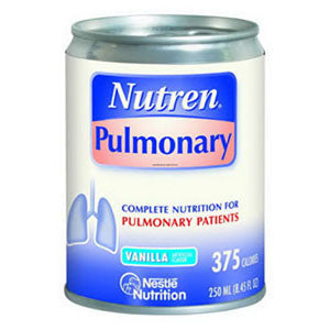 Nutren Pulmonary Complete Nutrition Vanilla Flavor 250mL Can