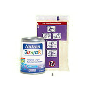 Nutren Junior Complete Unflavored UltraPak System 1000 mL Bag