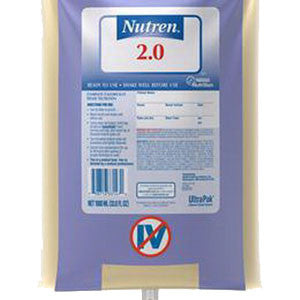 UltraPak Nutren Calorically Dense Liquid Nutrition 1000mL Bag