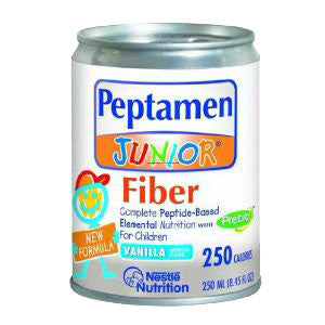 Peptamen Junior with Fiber vanilla Flavor Liquid 8 oz. Can