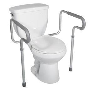 DRIVE MEDICAL Toilet Safety Frame, 300 lb Weight Capacity - Crescent Medical Supply