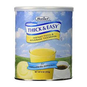 HORMEL FOOD SALES, LLC Thick and Easy Instant Food Thickener 8 oz. Can - Crescent Medical Supply