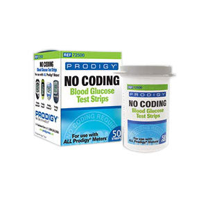 Prodigy No Coding Test Strip (50 count)