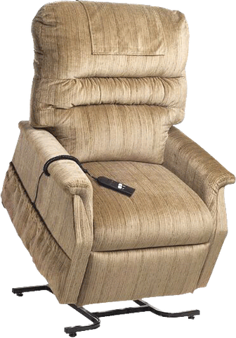 "GOLDEN TECHNOLOGIES Monarch Value Series 3-Position Lift Chair, Large, 44"" x 34"" - Crescent Medical Supply"