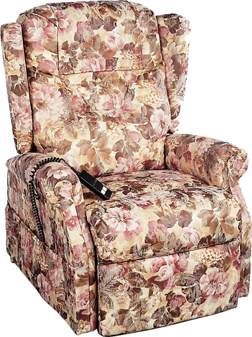 "Williamsburg Traditional Series 3-Position Lift Chair, Medium, 45"" x 32-1/2"""