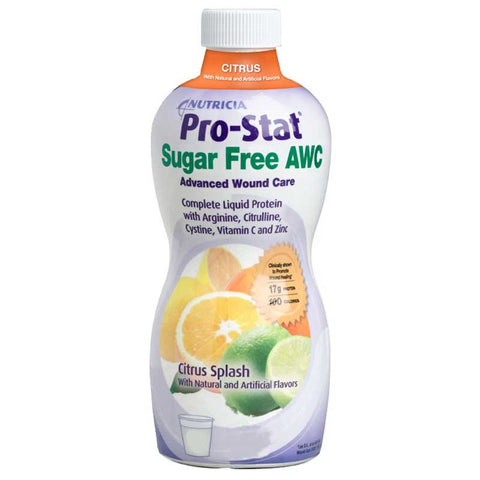 Pro-Stat Sugar Free AWC Ready-to-Use Liquid Protein Supplement 30 oz. Bottle