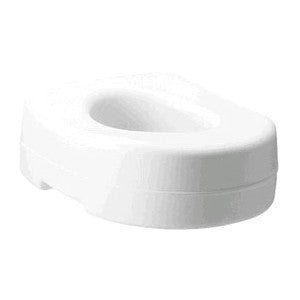 "CAREX HEALTH BRANDS Raised Toilet Seat 5"" x 15"" x 16"" - Crescent Medical Supply"