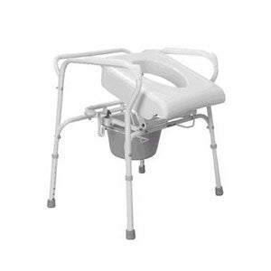 CAREX HEALTH BRANDS Uplift Commode Assist, White - Crescent Medical Supply