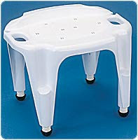 CAREX HEALTH BRANDS Adjustable Bath & Shower Seat w/Exact Level System - Crescent Medical Supply