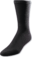 MEDICOOL INC European Comfort Diabetic Sock X-Large, Black - Crescent Medical Supply