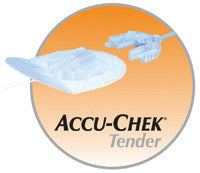 "Accu-Chek Tender II 43"" 17 mm Infusion Set with 10 Additional Cannulas"