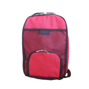 Mini Carrying Case for Zevex Pumps, Red, 1200 mL Capacity