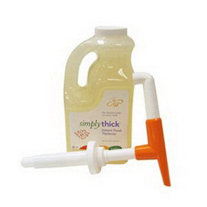 SIMPLY THICK Gel in a Bottle with Pump 64 oz. Bottle - Crescent Medical Supply