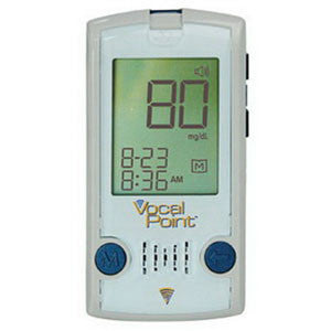 PHOENIX HEALTHCARE SOLUTIONS, LLC Vocal Point Talking Blood Glucose Meter - Crescent Medical Supply