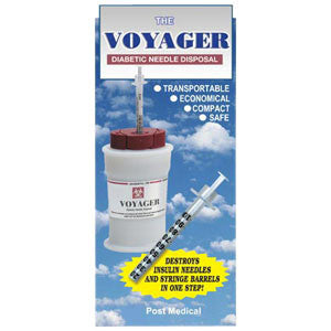 Voyager Diabetic Needle Disposal