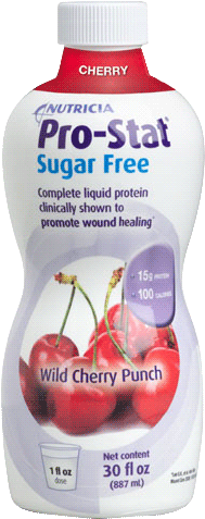 Pro-Stat Sugar Free Ready-to-Use Liquid Protein Supplement 30 oz. Bottle