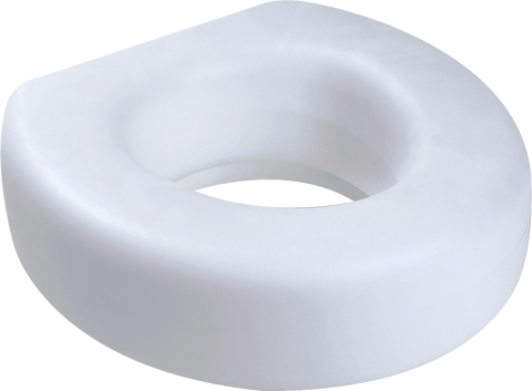 "CARDINAL HEALTH - MED Raised Toilet Seat, 5"" - Crescent Medical Supply"