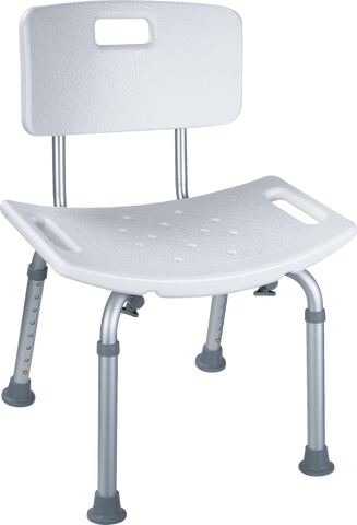 CARDINAL HEALTH - MED Shower Chair with Back - Crescent Medical Supply