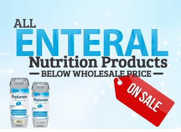 • We have lowered all of our Enteral Nutrition Products to wholesale pricing.<br/>  • If our prices aren't the lowest, let us know and we'll happy to match it!