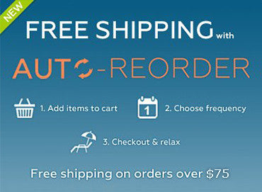 <ul><li>• Easily manage your recurring orders.</li><li>• Choose when you want items delivered.</li><li>• Always FREE 1-3 Day Shipping!</li>