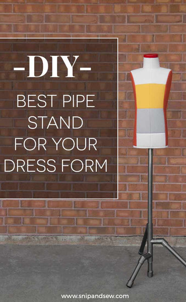 Pvc pipe stand DIY