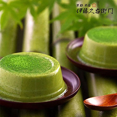 Uji Matcha Green Tea Pudding 4 pcs