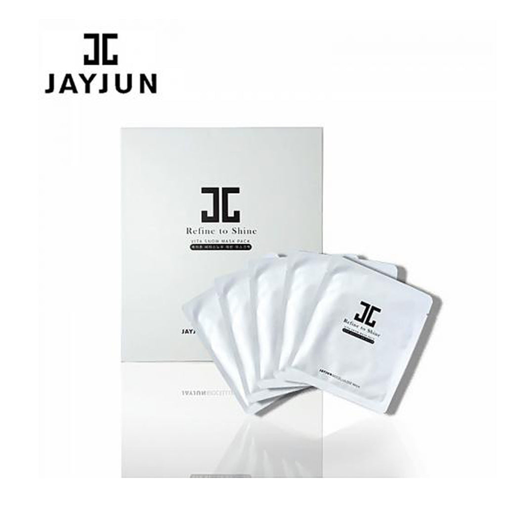 JayJun Refine to Shine Vita Snow Mask Pack 5 pcs