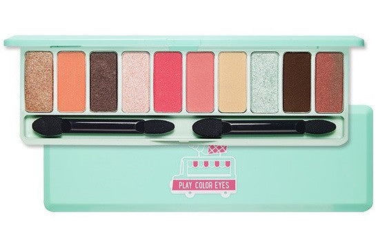 Etude House Play Color Eyes Ice Van 10 Colors Eye Shadow Palette