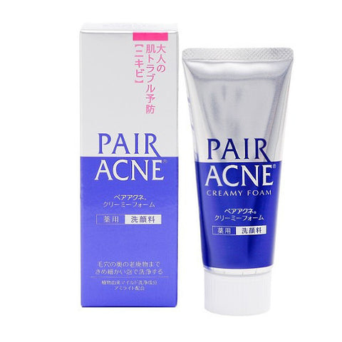 Lion Pair Acne Creamy Foam Facial Washing Foam 80g