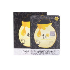 Papa Recipe Bombee Black Honey Mask Pack  - 10pcs