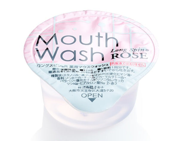 Medicated mouthwash Long Spin 5pcs Rose