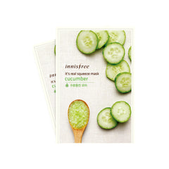 Innisfree It's Real Squeeze Mask-Cucumber 2pcs