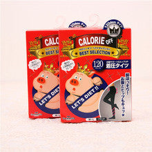 Japan Calories off Support & Hip UP Stockings Black 120D