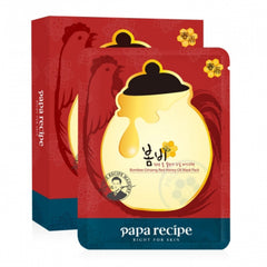 Papa Recipe Bombee Ginseng Red Honey Oil Mask  - 10pcs